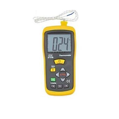 kontaktityyppi lämpötilan mittauslaite (mittausalue: -50 ℃ ~ 1300 ℃ / -58 ℉ ~ 2000 ℉ / 223K ~ 2000K)