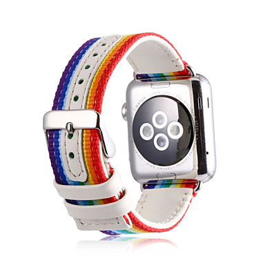 Klokkerem til Apple Watch Series 3 / 2 / 1 Apple Klassisk spenne Nylon Håndleddsrem