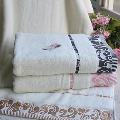 Badehåndklæde,Mønstret Høj kvalitet 100% Bomuld Håndklæde