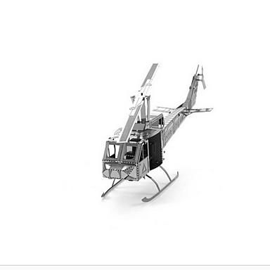 voordelige 3D-puzzels-Legpuzzels 3D-puzzels Bouw blokken DHZ-speelgoed Helikopter 1 Metaal Roze