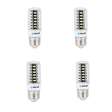 BRELONG® 4pcs 4W 400lm E14 G9 GU10 E26 B22 Bombillas LED de Mazorca B 42 Cuentas LED SMD 5733 Decorativa Blanco Cálido Blanco Fresco