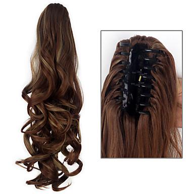 povoljno Perike i ekstenzije-Ekstenzije s mikro ringom Kovrčav Konjski repići Kose za kosu Ugradnja umetaka #DB2 # 280 #čokolada #copper smeđa #tamno smeđa