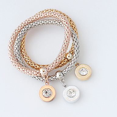 Dame Wrap Armbånd - Mode Armbånd Sølv / Gylden / Rose Guld Til Bryllup