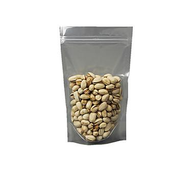 gjennomsiktig farge, plastmateriale emballasje& frakt 26 * 38 + 5 ziplock poser en pakke med elleve