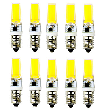 2.5W E14 G9 2-pins LED-lampen T 1 leds COB Decoratief Warm wit Koel wit 250-300lm 2900-3200/6000-7500K AC 220-240V