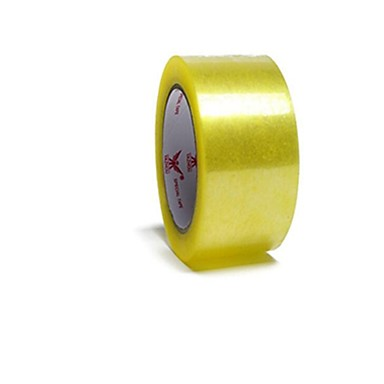 4cm * 186 átlátszó szalag tömítő szalag szalagot tömítő szalag átlátszó szalagot szabott nyomtatást