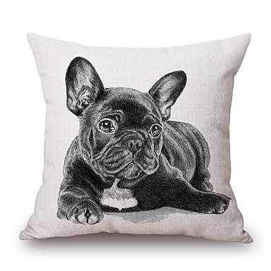 Stück Baumwolle / Leinen Kissenbezug, Grafik-Drucke Texture Tier Freizeit Akzent dekorativen Modern / Zeitgenössisch