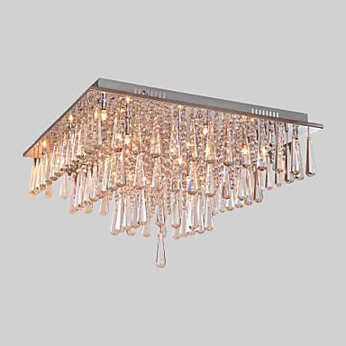 SL® Sıva Altı Monteli Ortam Işığı - Kristal, Modern / Çağdaş, 110-120V 220-240V, Soğuk Beyaz, Ampul Dahil