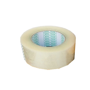 vier 4,5 cm * 10mm transparante verzegelen tapes per pack