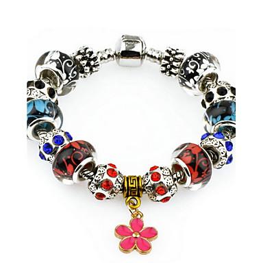 Dames Strand Armbanden Modieus Europees Legering Bloemvorm Klavertje vier Sieraden Voor Dagelijks Causaal