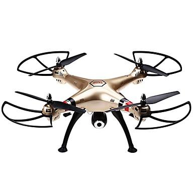 Drone SYMA X8HW 4 Kanaler 6 Akse 2.4G Med kamera Fjernstyret quadcopter FPV / Hovedløs Modus / 360 Graders Flyvning / Hover / Med kamera