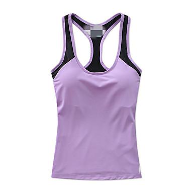 Mulheres Sutiã Esportivo Secagem Rápida Respirável Compressão Redutor de Suor Colete Sutiã Esportivo Pulôver Blusas para Ioga Exercício e