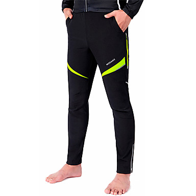WOSAWE Bisiklet Pantolonu Unisex Bisiklet Pantalonlar Alt GiyimlerSu Geçirmez Nefes Alabilir Sıcak Tutma Rüzgar Geçirmez Yalıtımlı