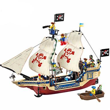 modelo de montagem de plástico de ensino piratas série brinquedos infantis thalassocrat não.