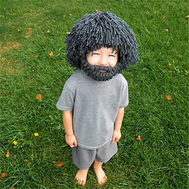 Halloween-masker / Uld Hat Ferieartikler Halloween / Maskerade 1Pcs