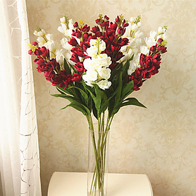 1 1 haara Muovi Others Pöytäkukka Keinotekoinen Flowers 23.6inch/60cm