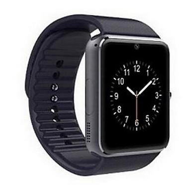 Hombre Reloj elegante Pantalla Táctil / Despertador / Calendario Caucho Banda Negro / Control remoto / Podómetros / Monitores para Fitnes / Cronómetro