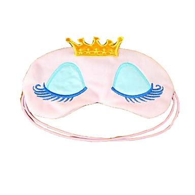 Máscara de Dormir Descanso em Viagens para Descanso em Viagens Azul Rosa claro