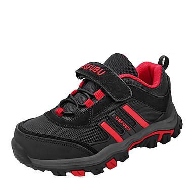 Sportssko-Kunstlæder-Modestøvler Rulleskøjtesko Komfort-Drenge-Grøn Rød-Udendørs Fritid Sport-Flad hæl