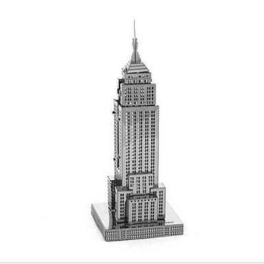voordelige 3D-puzzels-3D-puzzels Modelbouwsets Speeltjes Beroemd gebouw Empire State Building DHZ Metaal Jongens Meisjes 1 Stuks