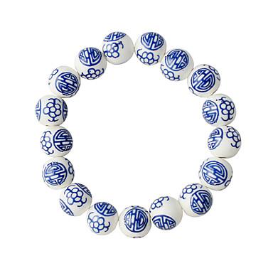Damen Strang-Armbänder Modisch Aleación Kreisförmig Schmuck Alltag Modeschmuck Blau
