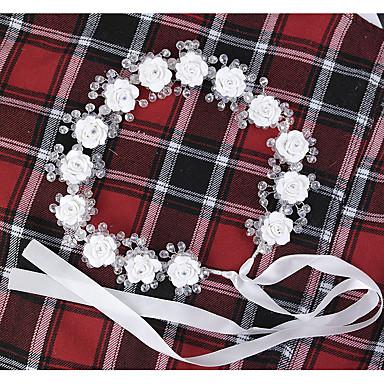 rhinestone krans headpiece bryllupsfest elegant feminin stil