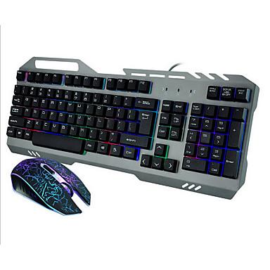 Mit Kabel USB Tastatur & MausForWindows 2000/XP/Vista/7/Mac OS