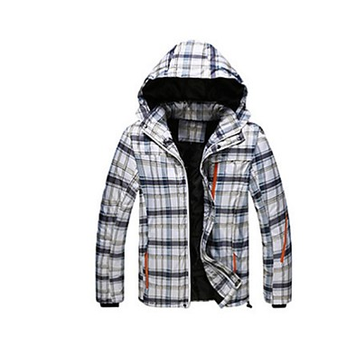 Skitøj Ski/Snowboard Jakker Herre Vintertøj Polyester Vintertøj Hold Varm Vindtæt PåføreligCampering & Vandring Snesport Alpin