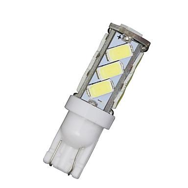 10x t10 fehér W5W 192 168 194 7014 13smd 5730 13 LED oldalsó lámpák LED-es ék fény 12v
