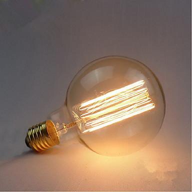 1pc 40 W E27 2300 k Glødende Vintage Edison lyspære 110-240 V / 85-265 V