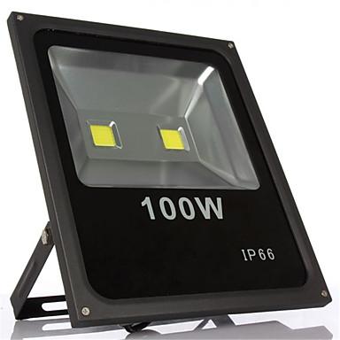 100w varm kold hvid IP66 vandtæt medført oversvømmelse lys LED lampe (85-265v)