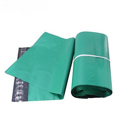 dikke groene koerier zakken 28 * 42/38 * 52 plastic verpakkingen zakken kan worden aangepast een pak van honderd