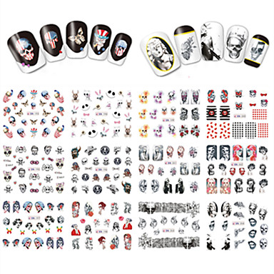 Nail Art Nail Sticker Vollständige Nail Tips / Nail Schmuck