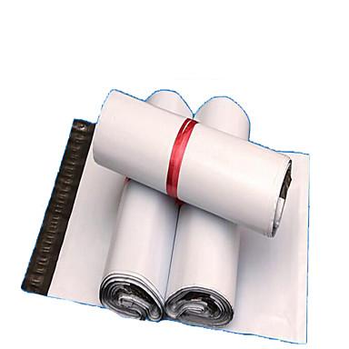 koerier zakken koerier zakken dikkere witte destructieve afdichting waterdichte plastic zakken groot kleding gepakt