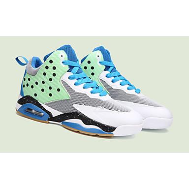 Sneakers-TylHerre-Blå Grøn Rosa-Sport-Flad hæl