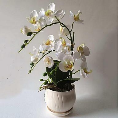 Kunstige blomster 1 Gren Pastorale Stilen Planter Bordblomst / Enkelt Vase