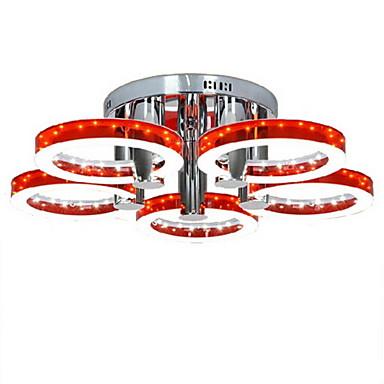 5-Light Монтаж заподлицо Рассеянное освещение - LED, 90-240 Вольт, Теплый белый / Белый, Светодиодный источник света в комплекте / 20-30㎡