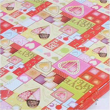 Mischfarbe Geschenkpapier Boutique Geschenk der Liebe Cartoon