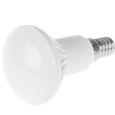 R50 3,5w 350-400 lm e14 led-lamppu sipulit 9smd 5730 lämmin valkoinen / viileä valkoinen led-valot (ac220-240v)