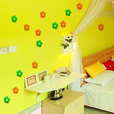 Joulu / Romantiikka / Fantasia Wall Tarrat 3D-seinätarrat Koriste-seinätarrat / Jääkaappitarrat / Häätarrat,pvc materiaaliIrroitettava /