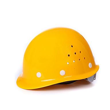 hvit gul rød blå glass og stål byggevarer området pustende anti-knusende høy temperatur innvirkning hjelmer