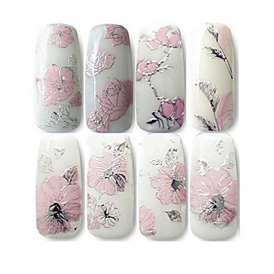 1 pcs 3D Negle Stickers Negle kunst Manicure Pedicure Mode Daglig / 3D Nail Stickers