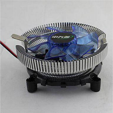 Bingfeng Lanbing versão intel 775 1155 CPU AMD dissipador de calor multi-plataforma de luz mute
