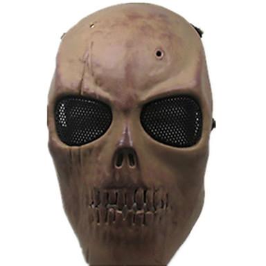 cor amarela, outros acessórios de proteção material de cs máscara jogo osso seco