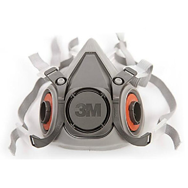 3m6200 dubbele rubber headset stoffilter cartridge half masker maskers