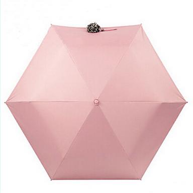 Sammenfoldet paraply Sol & Regn tekstil Reise Dame Herre