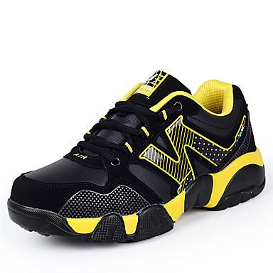 Para Meninos Tênis Conforto Couro Ecológico Primavera Outono Casual Caminhada Conforto Cadarço Rasteiro Amarelo Verde Azul Rasteiro