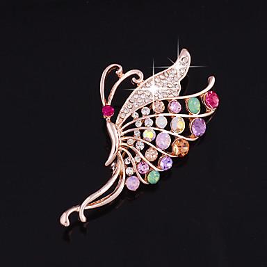 one piece / rose gold brooches bryllup part elegante feminine stil