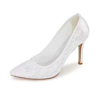Ivoire Bleu Mariage Soirée Couture Talon Rose Dentelle 05136375 en Chaussures amp; Talons haut Evénement Printemps Eté Femme Confort à Tricot Chaussures OqpZaZ