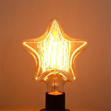pentagram edison 40w e27 gloeilampen vintage wolfraam lamp antiek versieren verlichting voor pendant (AC220-240V)